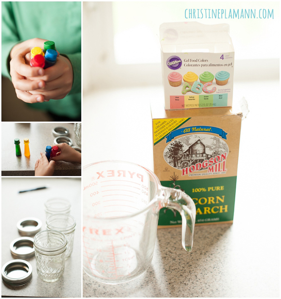 how to make food coloring paint